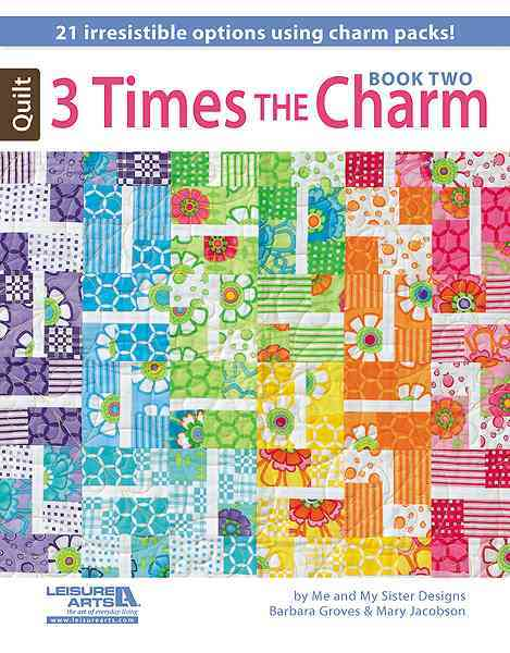 3 Times the Charm, Book 2 By Groves, Barbara/ Jacobson, Mary